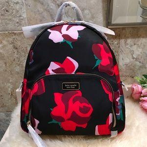 Kate Spade Bold Roses Backpack 🎒